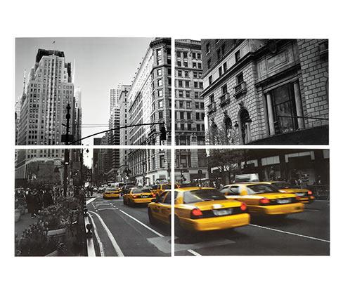 Nástěnné nálepky New York Cab