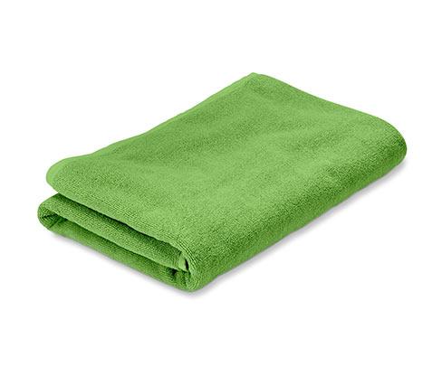 Frottír fürdőlepedő, zöld