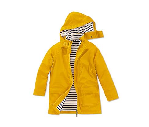Gyerek szteppelt dzseki, sárga a Tchibo nál.