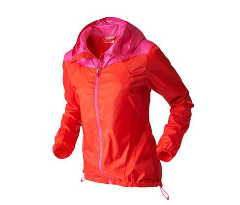 Běžecká bunda pack me, oranžovo-růžová