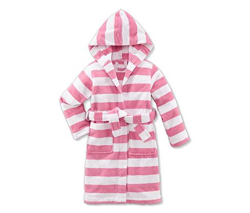 Koupací plášť, růžový