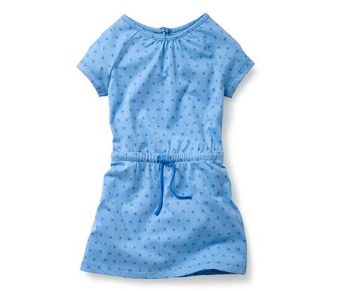Žerzejové šaty, modré
