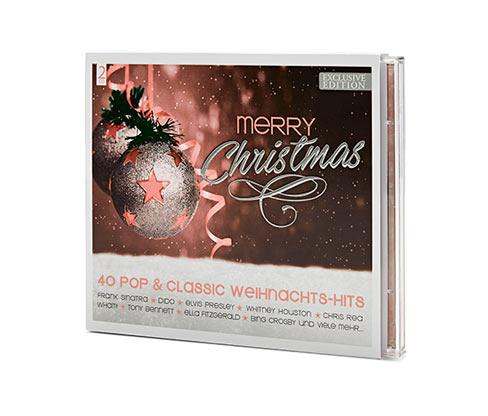 Podwójna płyta CD »Merry Christmas«