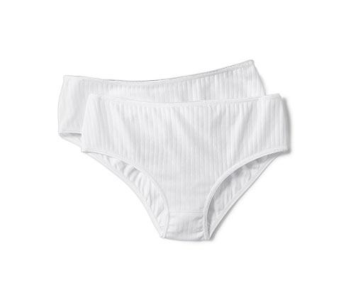 Dámske nohavičky, biele