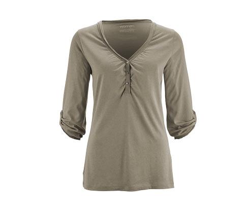 Tričko s tříčtvrtečními rukávy, šalvějové