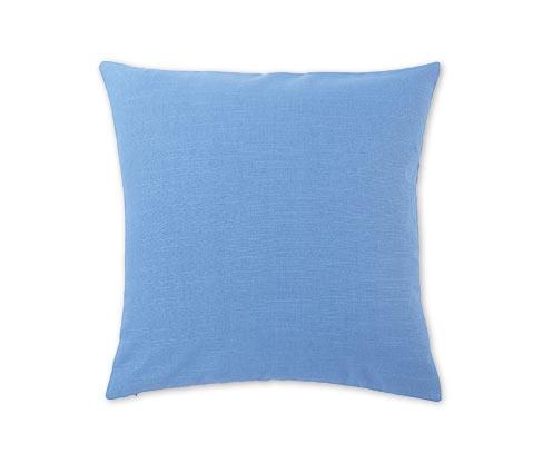 Povlak na dekorační polštářek, modrý