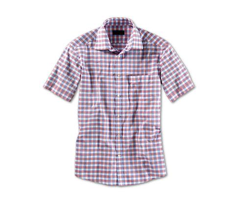 Košile s krátkým rukávem, červená