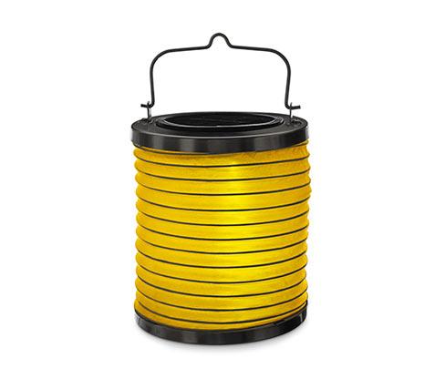 Solární lampion s LED, žlutý