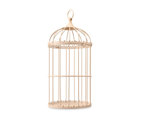 Dekorační klec pro ptáčky