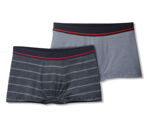 2 férfi boxer alsónadrág szettben