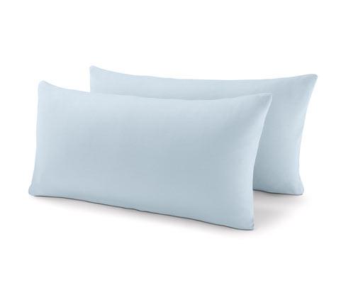 Poszewki na poduszki z dżerseju, 2 sztuki