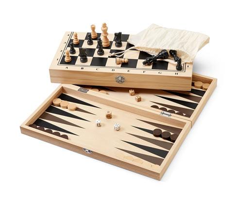 Gra 3 w 1 »backgammon, warcaby i szachy«