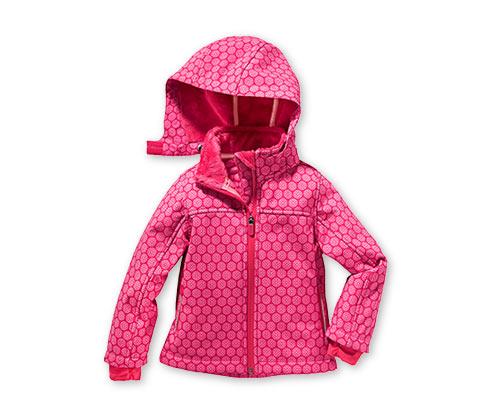 Lányka softshell dzseki