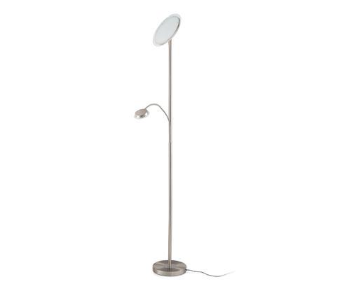 Stojacia lampa s LED a lampičkou na čítanie