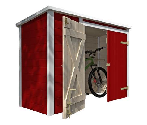 WEKA-Fahrrad- und -Multibox