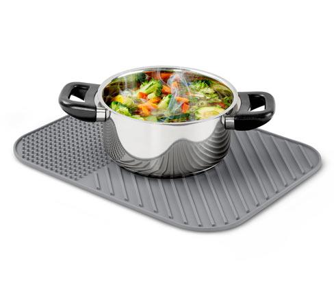 Silikonová odkapávací podložka na nádobí