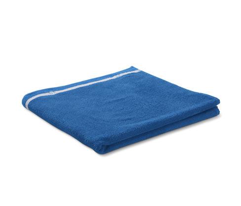 Duży ręcznik kąpielowy-poncho 2 w 1 z tkaniny frotté