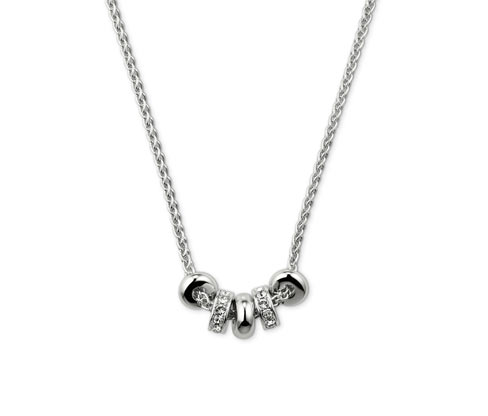 Halsband med Swarovski®-kristaller