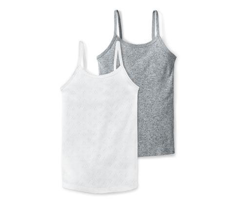 Košilky v ažurovém vzhledu, 2 ks