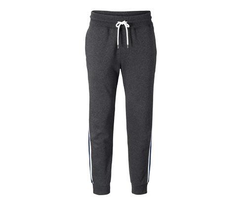 Męskie spodnie dresowe z lampasami