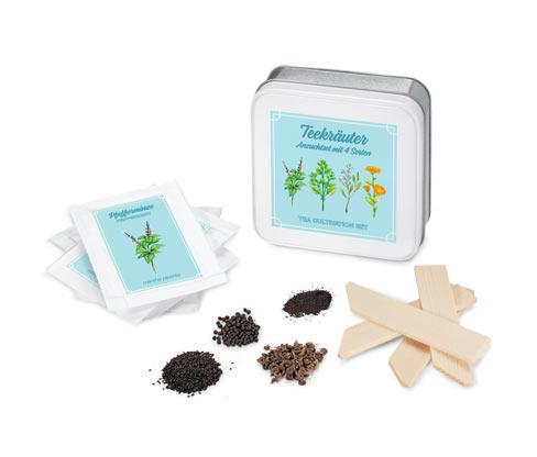 Zestaw do uprawy »zioła herbaciane«