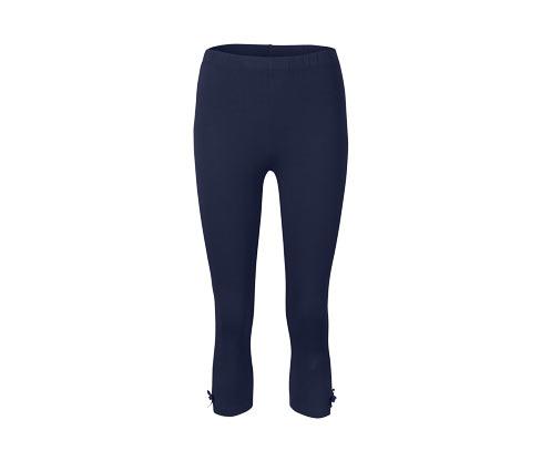 Női 3/4-es leggings, sötétkék