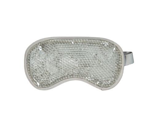 Varme-kulde-øjenmaske med gelkugler