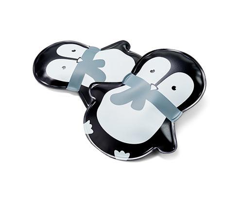 2 zselés párna szettben, pingvin