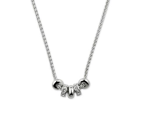 Női ezüst színű nyaklánc, Swarovski