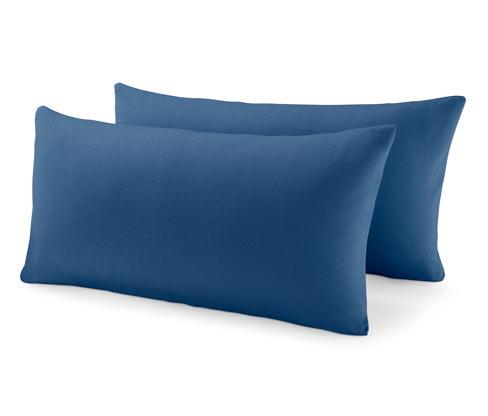 Dżersejowe poszewki na poduszki, 2 sztuki