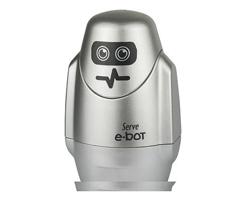 Serve E-Bot Silgili Kalemtiras Metalik Gri Tekli
