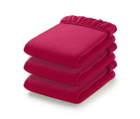 Gumis jerseylepedő, szimpla, rózsaszín