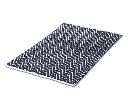 Dywan łazienkowy w geometryczne wzory z antypoślizgowym spodem