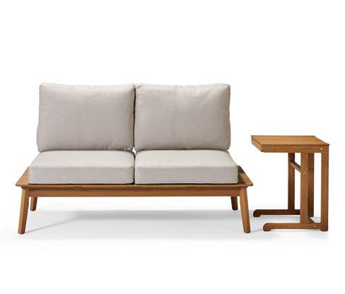 Sofa ogrodowa ze stolikiem