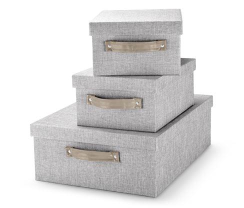 Súprava úložných boxov