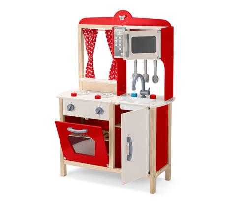 Dřevěná kuchyňka na hraní