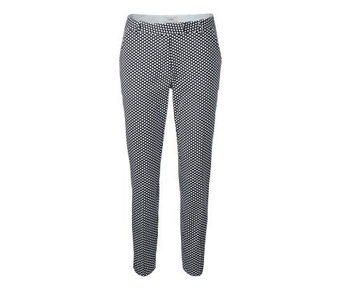 Pantalon imprimé avec motif à pois