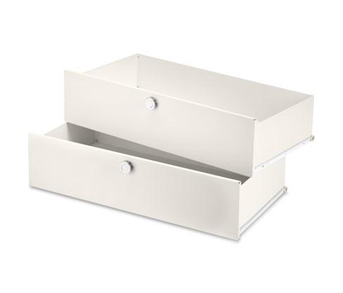 Metall-Ergänzungsset mit 2 Schubladen