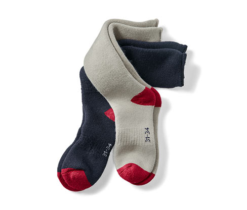 2 Çift Sıcak Tutan Diz Altı Çorap