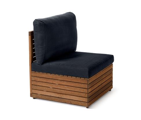 Lounge-Möbel-Element, Mittelteil