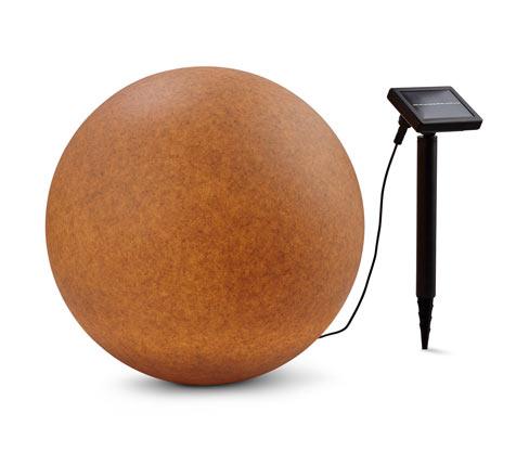 Zewnętrzna kulista lampa solarna