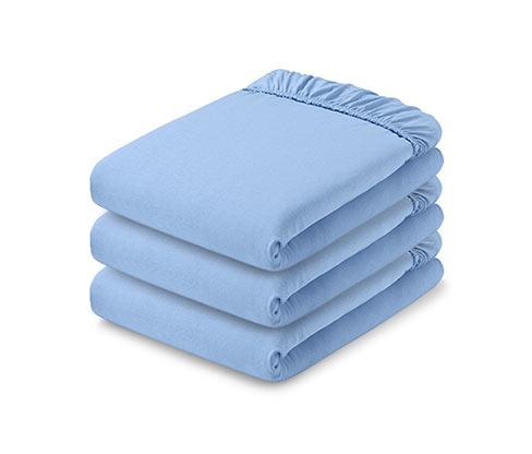 Jersey Çarşaf,Mavi,180 x 200 ile 200 x 200 cm