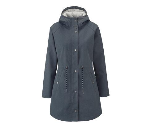 Női kapucnis softshell kabát