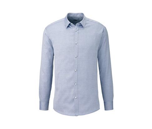 Koszula z tkaniny o splocie podwójnym