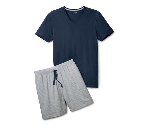 Férfi rövidnadrágos pizsama