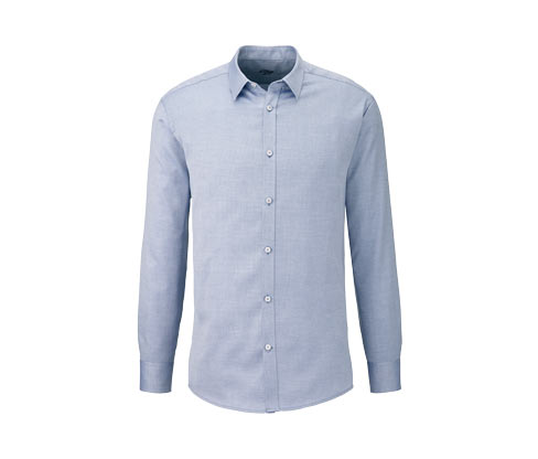 Vollzwirn-Hemd mit Kent-Kragen