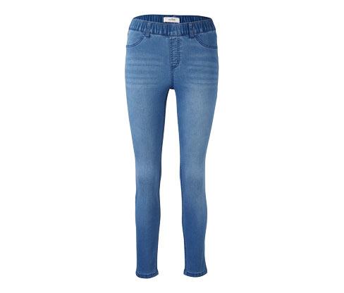 Açık Mavi Denim Tayt Pantolon