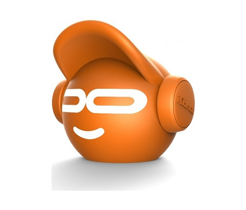 Turuncu iDance Beat Dude Mini Bluetooth Hoparlör