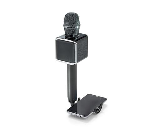 Karaokemikrofon, Bluetooth hangszóróval