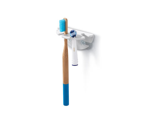 Saugnapf-Zahnbürstenhalter